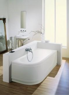 Mooi witte badkuip